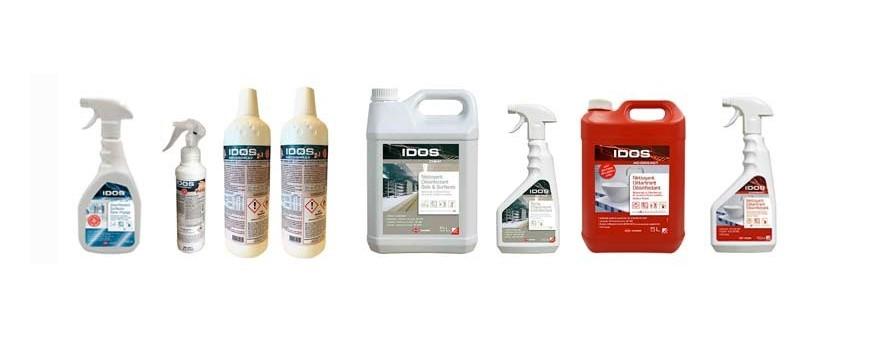 Nettoyants désinfectants professionnels