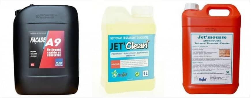 Produits de nettoyage pour la maison extérieur et intérieur